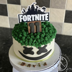 Birthday - Boy Fortnite, 8 chocolate 202