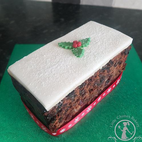"Winter Fruit Christmas Cake - Classic 6"" x 3"""