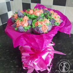 Celebration bouquet, Buttercream flowers