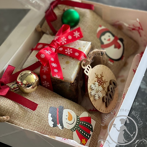 Christmas treat hamper
