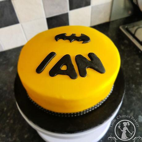 Birthday - Batman, lemon drizzle 2019 20