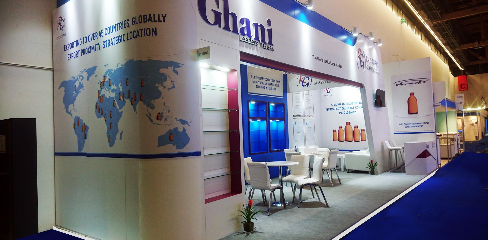 Ghani Glass company.