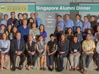 U of A Alumni Dinner- Fullerton Hotel (Dec 9, 2014)