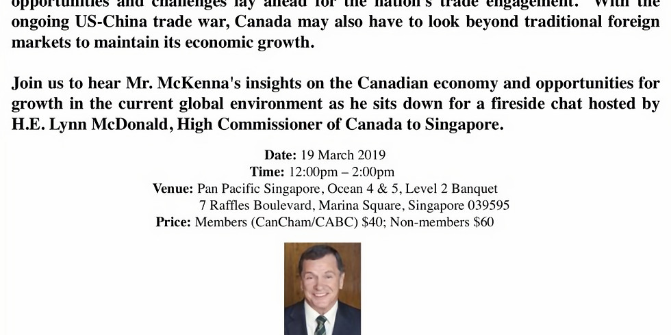 Luncheon with The Honourable Frank McKenna, Deputy Chair, TD Bank Group