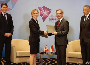 Canada-Singapore Cybersecurity Coopration MOU