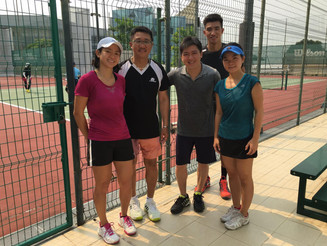 24th Alumni International Singapore (AIS) Inter-Alumni Tennis Tournament (Aug 28, 2016)