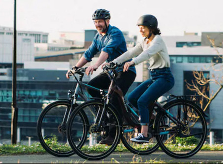 How E-Bikes Are Helping Couples Cycle Together