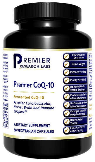 Premier CoQ-10 100 mg - 50 caps