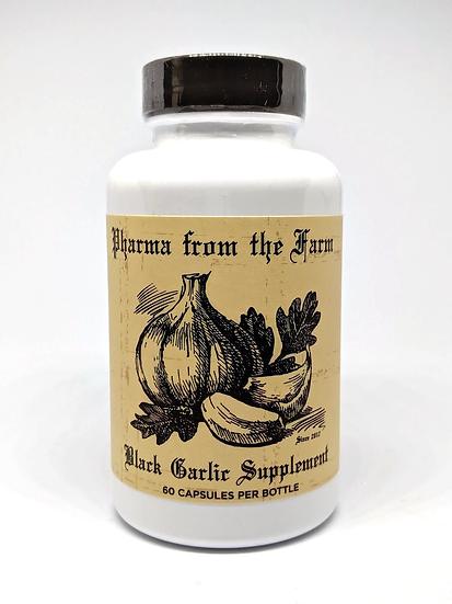 Aged Black Garlic 500 mg - 60 capsules