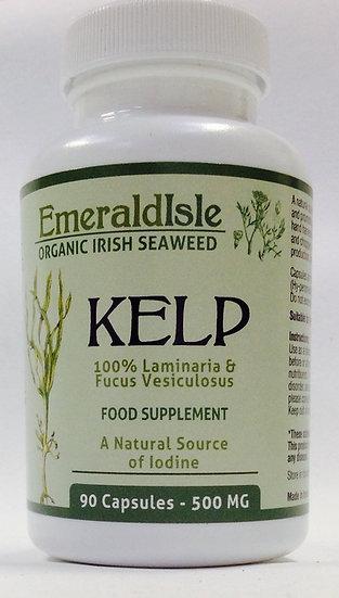 Organic Kelp 500 mg - 90 capsules