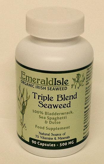 Organic Triple Blend Seaweed 500mg - 90ct