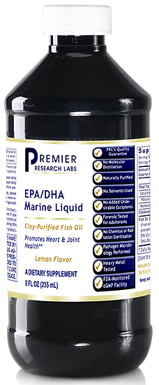 EPA/DHA Marine Liquid - 8 oz