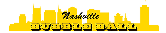 Nashville Bubble Ball Logo