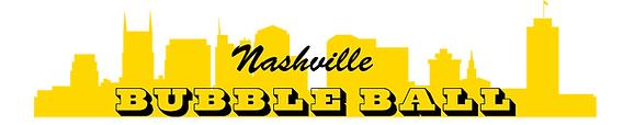 Nashville Bubble Ball Logo
