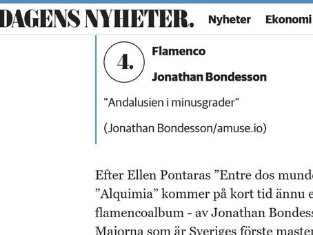 Recension i Dagens Nyheter!