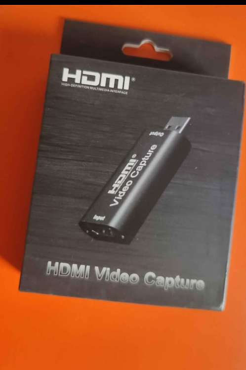 Capturadora de Video full hd - 4k para Streaming HDMI in USB out