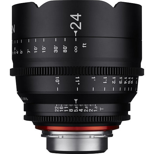 Lente Rokinon Xeen 24mm T1.5 Lens for Canon EF Mount