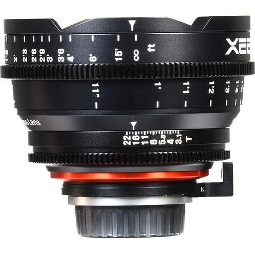 Lente Rokinon Xeen 14mm T3.1 Lens for Canon EF Mount