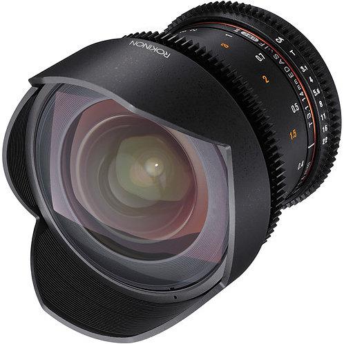 Lente Rokinon 14mm T3.1 Cine DS Lens for Canon EF Mount