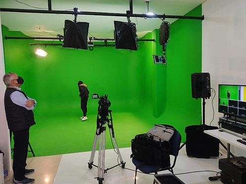 ESTUDIO DE TELEVISION 25 MTRS CUADRADOS