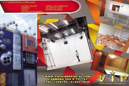 ESTUDIO INSONORIZADO PARA CINE, TV Y PUBLICIDAD