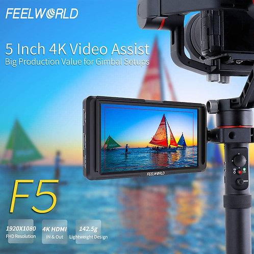 Mini Monitor 5 pulgadas 4k full hd para Director Gimbal camaras dslr mirrorless
