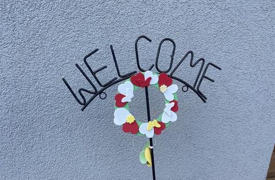 Bienvenue chez nous !