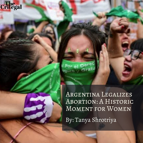 Argentina Legalizes Abortion: A Historic Moment for Women