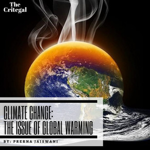 Climate Change: The Issue of Global Warming