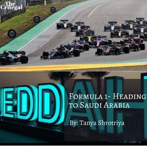 Formula 1 - Heading to Saudi Arabia