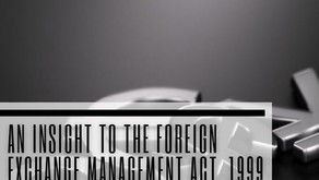 An Insight to the Foreign Exchange Management Act, 1999 and the role of RBI