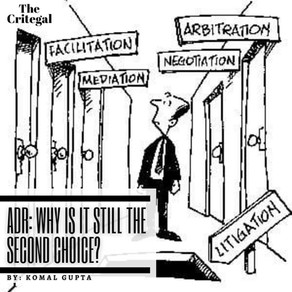 ADR: Why is it still the Second Choice?