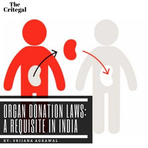 Organ Donation Laws: A Requisite in India