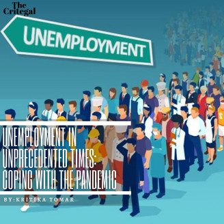 Unemployment in Unprecedented Times: Coping with the Pandemic