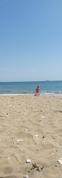Peaceful Beach Work