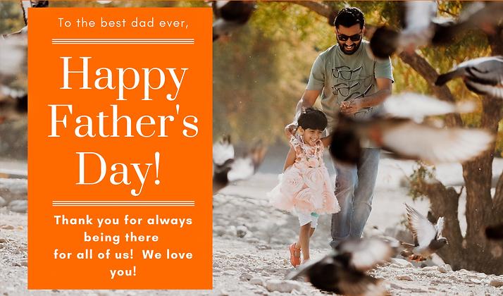 Happy Father's Day Custom Photo Card