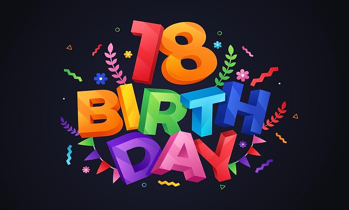 18th birthday celebrate