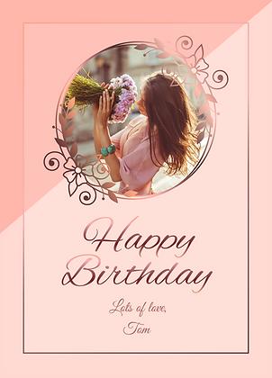 Happy Birthday rose