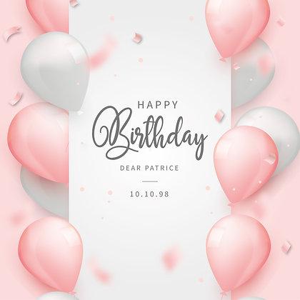 Happy Birthday Date