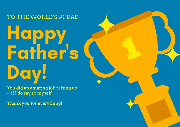 World Cup for Father's Day