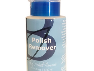 Say Hello to Blu Inks Soy Polish Remover