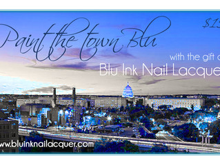 Say Hello to Blu Inks Gift Cards