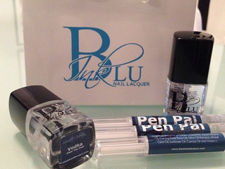 Blu Ink Essentials Pen Pal and Vodka (topcoat) two must haves