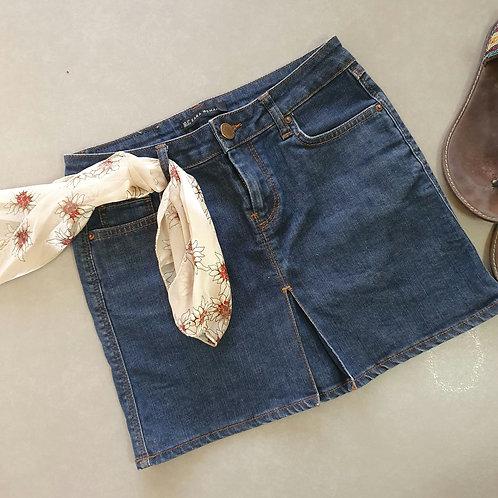 חצאית מיני ג'ינס 34