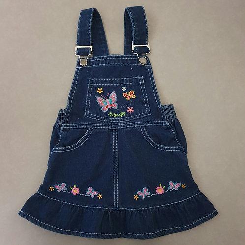 אוברול חצאית ג'ינס מידה 2