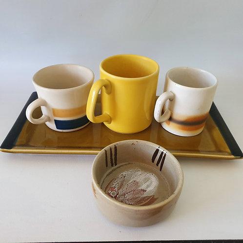 כוס 2 פסים של לפיד