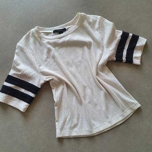 חולצה שחור לבן s