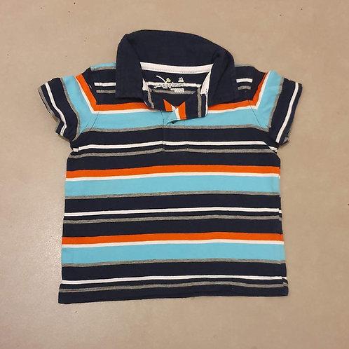 חולצת פולו פסים 12 חד