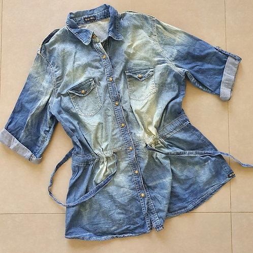 חולצת טוניקה ג'ינס מידה 6