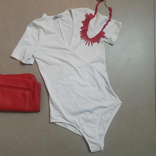 בגד גוף לבן XS